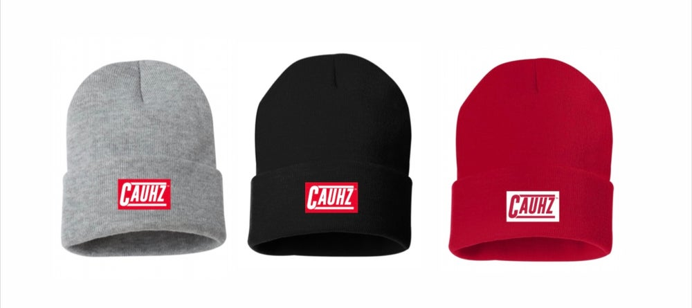 Image of Cauhz™️ Logo Stitched Beanies