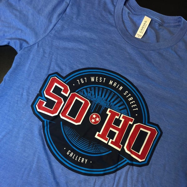 "Image of SOHO GALLERY ""OILERS'"" TEES"