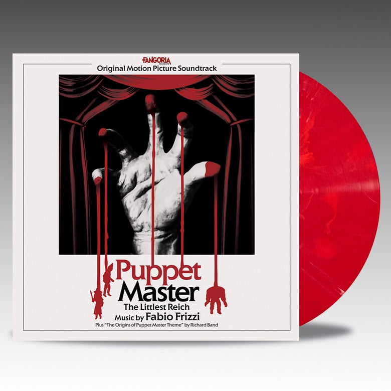Image of Puppet Master - The Littlest Reich 'Toulon's Bloody Revenge' Vinyl - Fabio Frizzi
