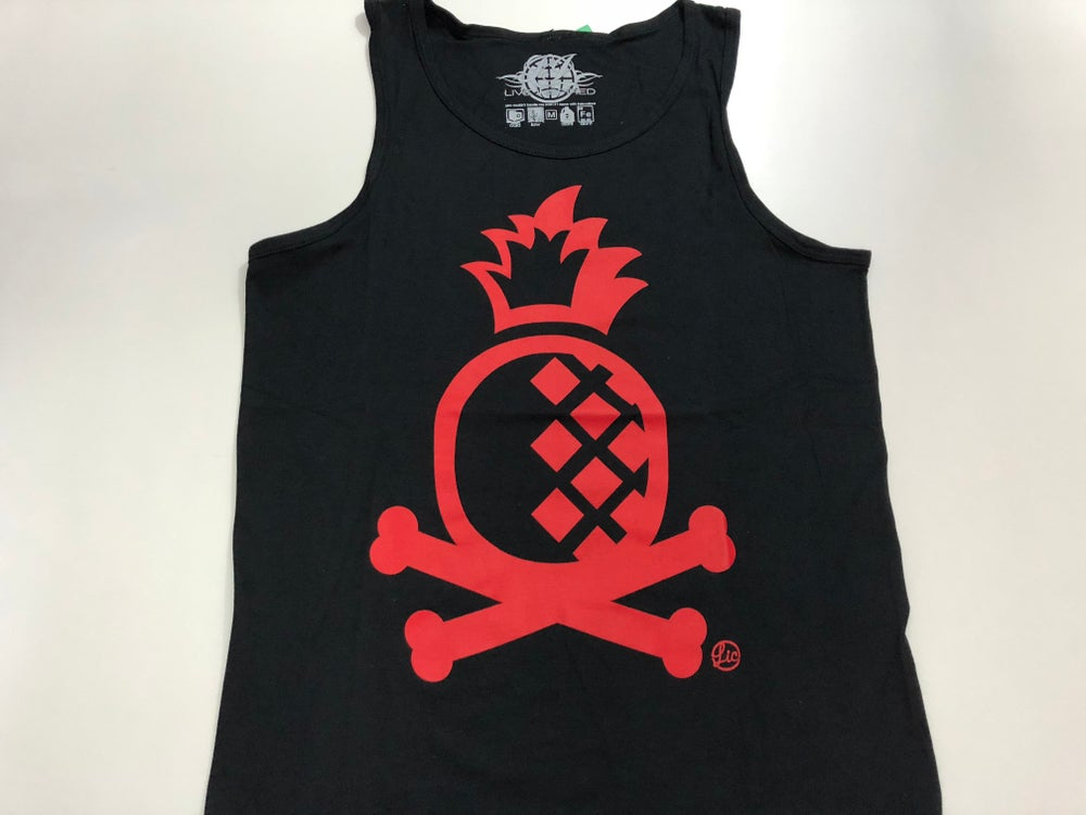 Image of Pineapple Crossbones Mens TankTop - Bred