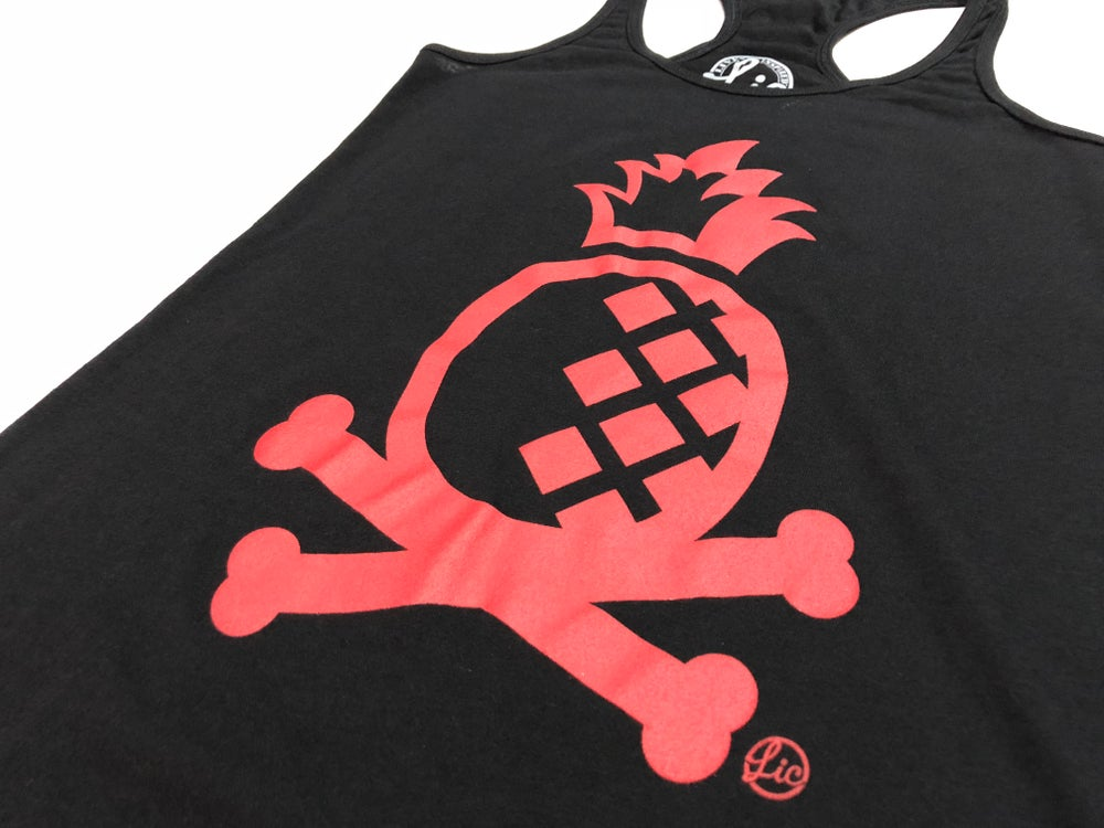 Image of Pineapple Crossbones Womens Tank - Bred