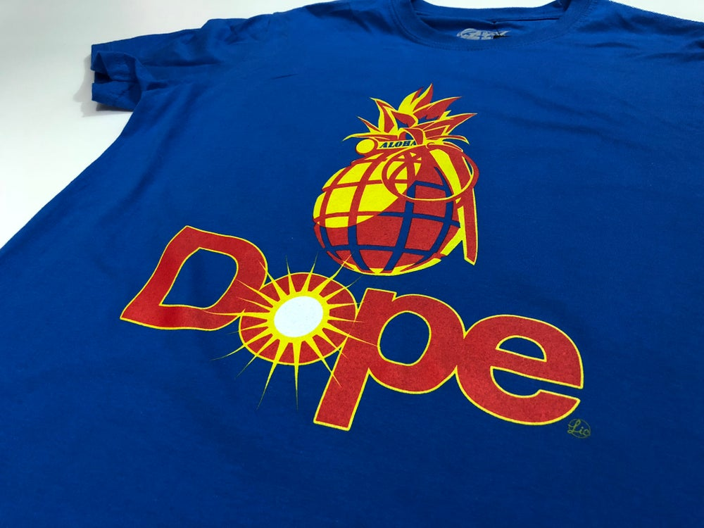 Image of Dope Mens Tee - Blue