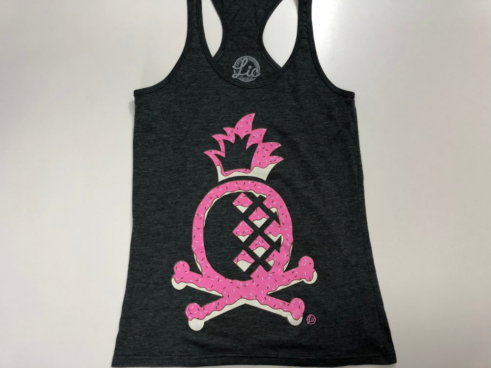 Image of Pineapply and Crossbones Women Tank- DOHnut