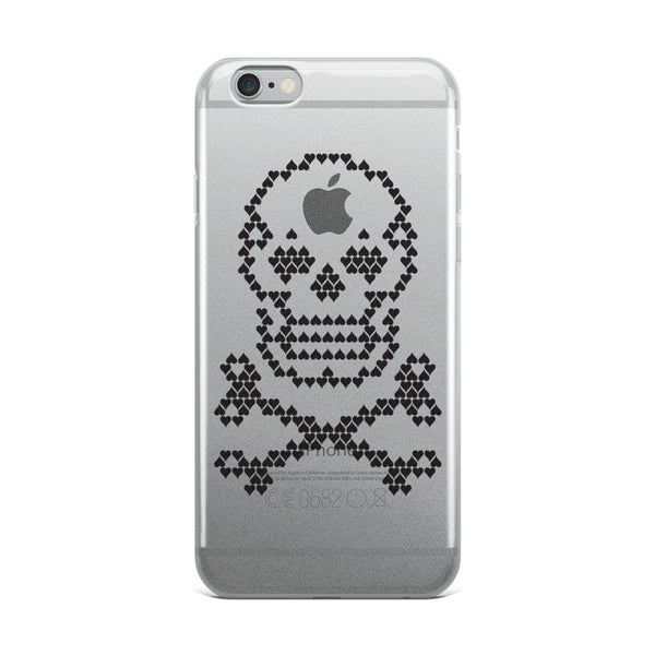 Image of Heart Skull Cell Phone Cases