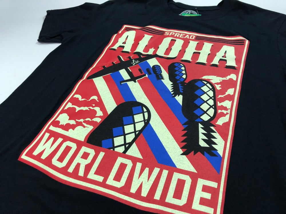 Image of Spread Aloha Worldwide- Black