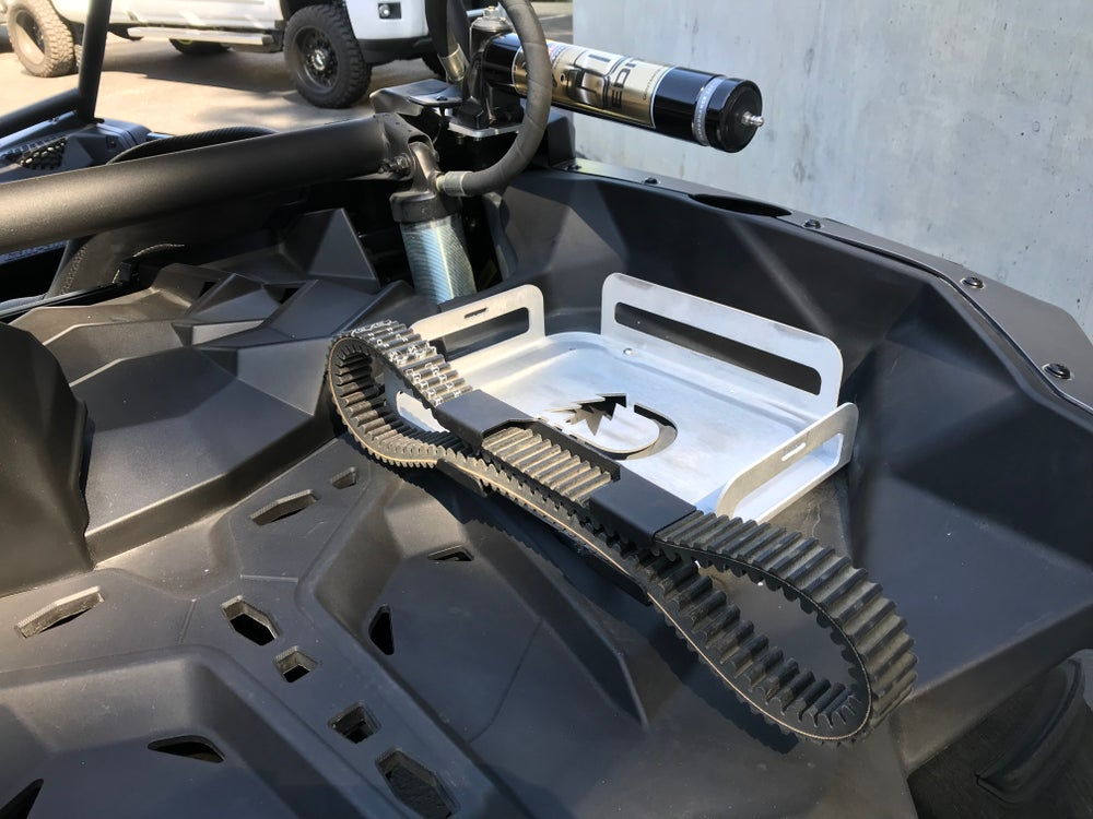 Image of UTV spare belt mount