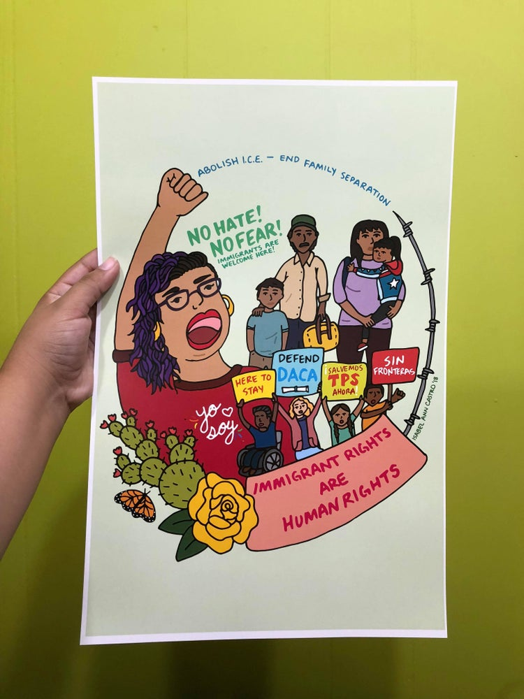 Image of No Hate, No Fear Poster