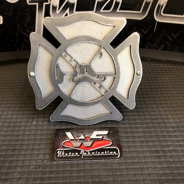 Image of Firefighter Shield Hitch Cover