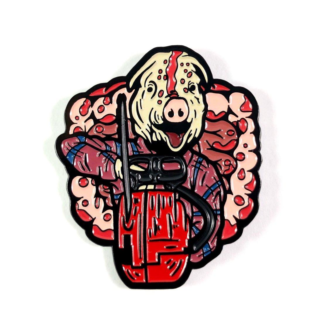 Image of Motel Hell Enamel Pin