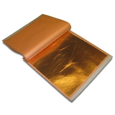 Image of Copper Leaf Book ( 25 Sheets)