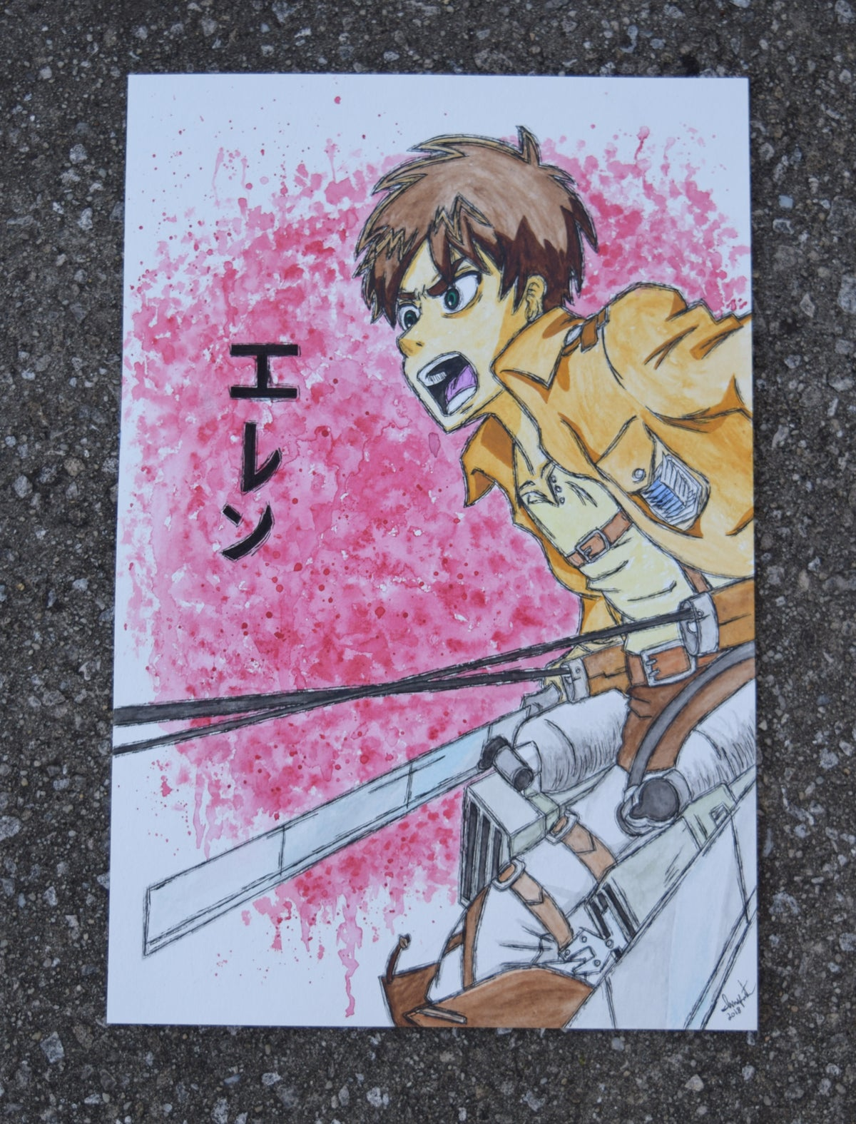 Image of Eren Yeager (Attack on Titan)