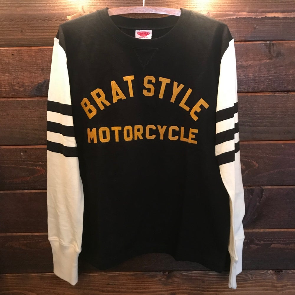 "Image of BRATSTYLE MOTO JERSEY ""COMPETITION STRIPE"""