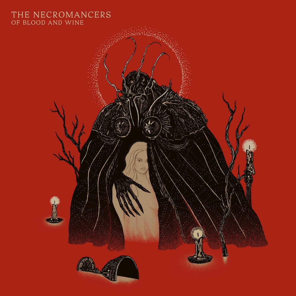 Image of The Necromancers - Of Blood and Wine CD