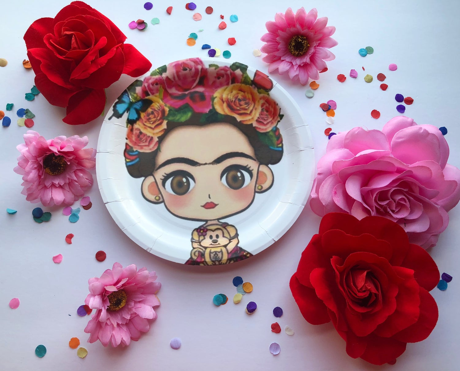 Floral Frida Party Goods