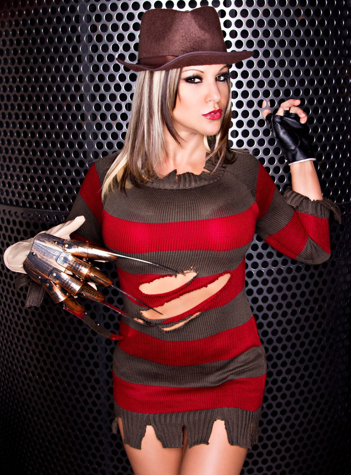 "Image of Velvet Sky ""A Nighmare on Vel Street"" Signed 8x10 Photo"