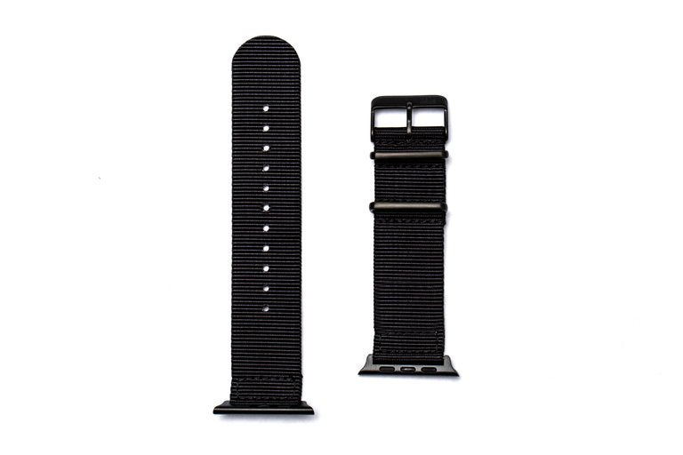 Image of Black - NATO Apple Watch Strap PVD Edition