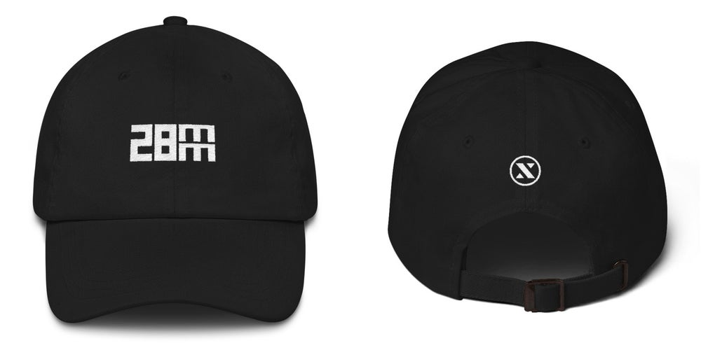 Image of 28mm Dad Hat - Black