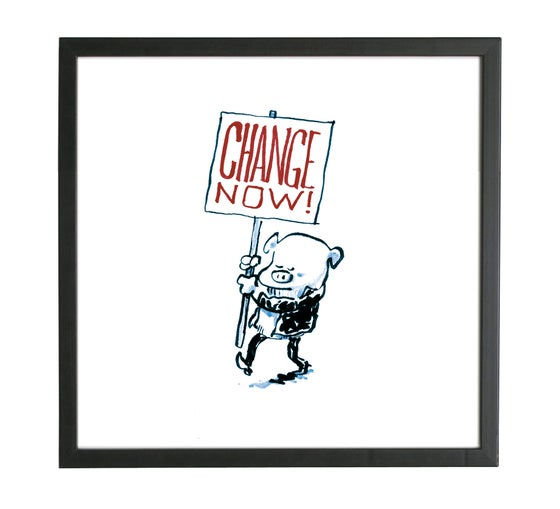 Image of Print - Change Now!