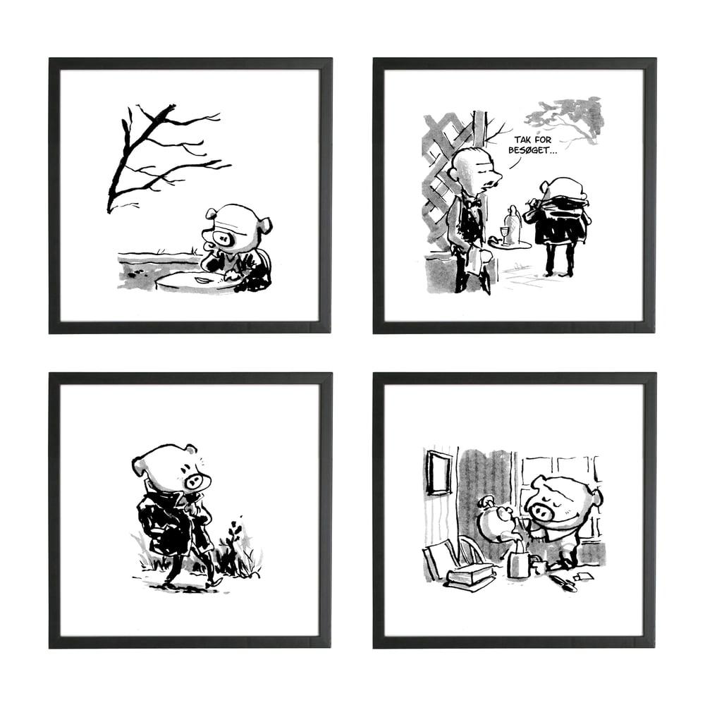 Image of Prints - Tegneserie til din væg