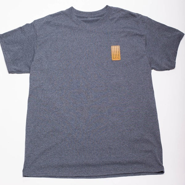 Image of Blocker Patch (Dark Heather T-Shirt)