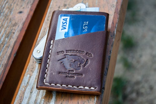 "Image of El Primero — ""Thoroughbred"" Italian Cowhide Leather Wallet"