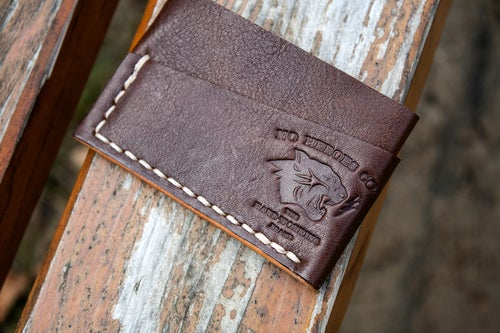 "Image of Spruce Goose — ""Thoroughbred"" Italian Cowhide Leather Wallet"