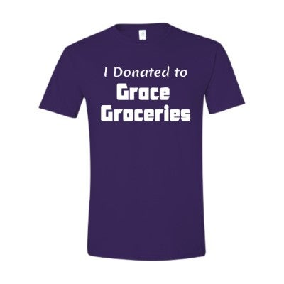 Image of I Donated to Grace Groceries T-Shirt
