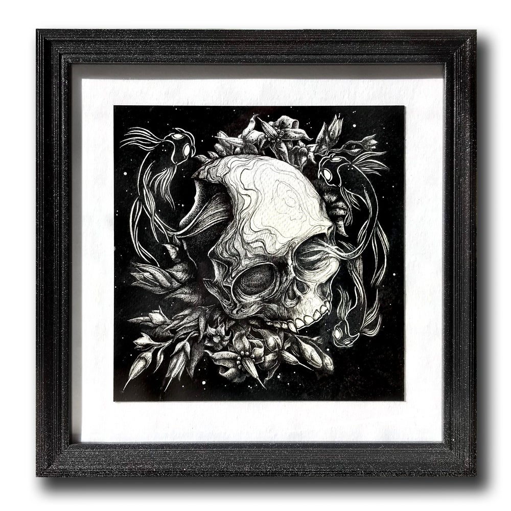 Image of Ghosts in the Machine - Small Framed Giclée print
