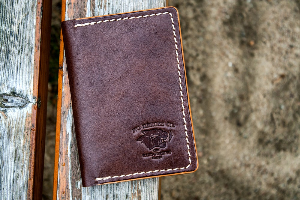 "Image of Drifter — ""Thoroughbred"" Italian Cowhide Leather Passport/Notebook Wallet"