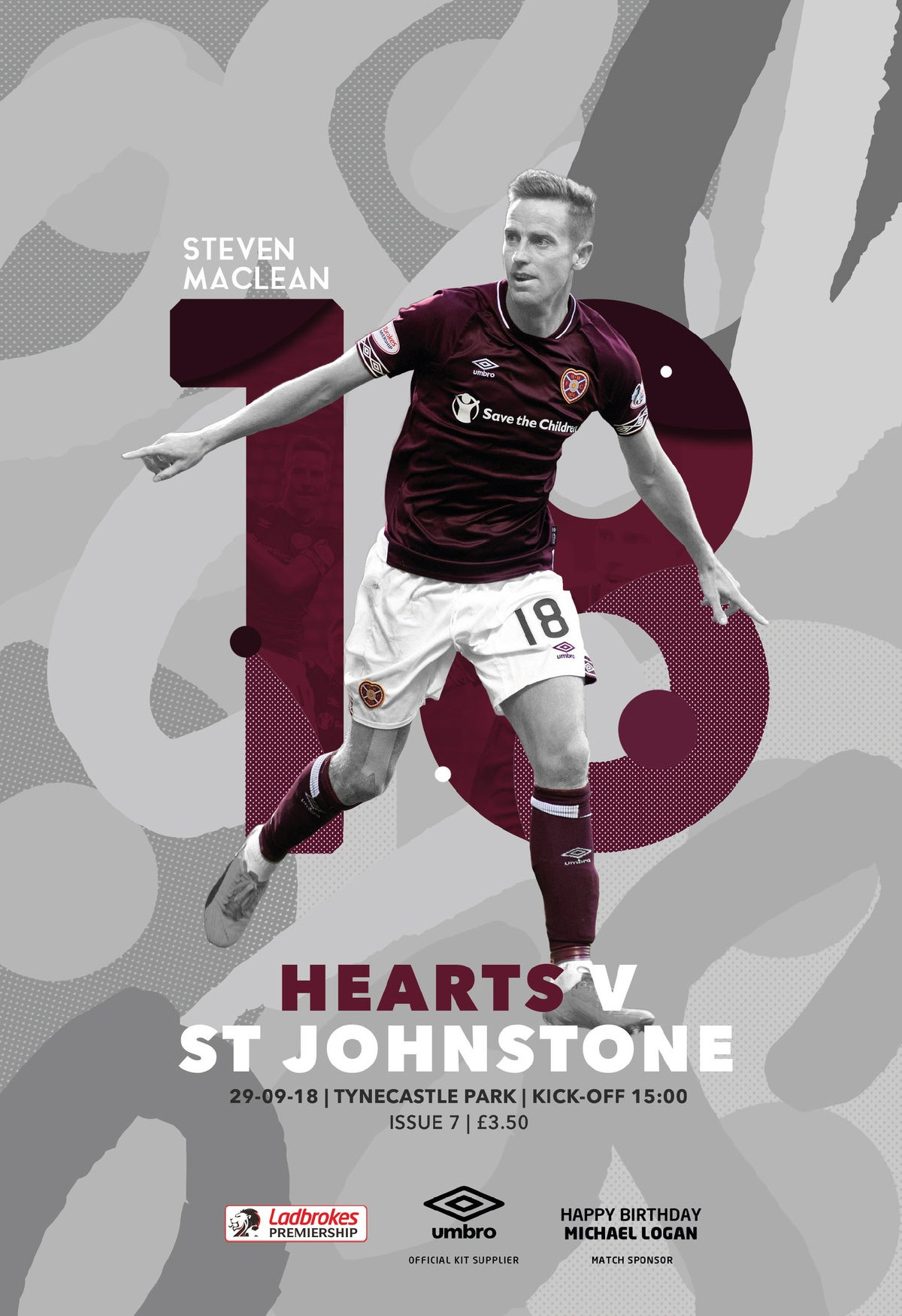 Image of Hearts v St Johnstone, 29th September 2018