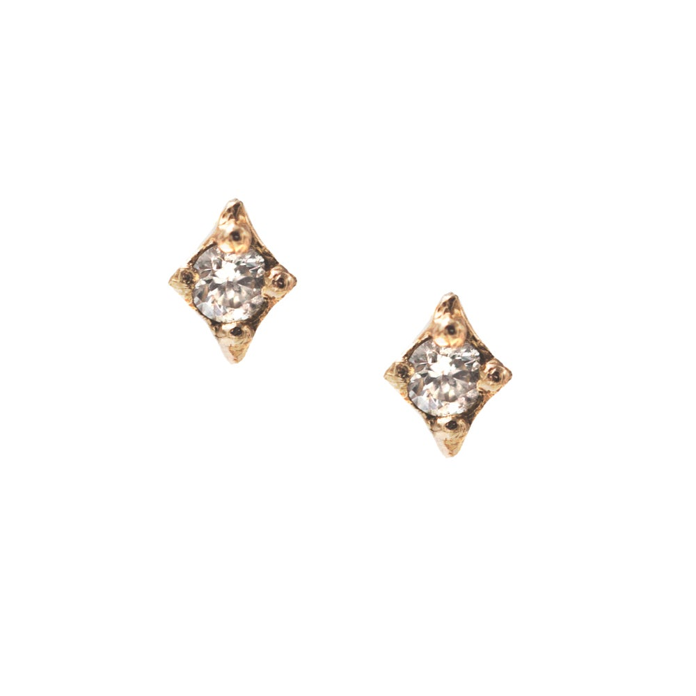 Image of DIAMOND STARDUST STUDS