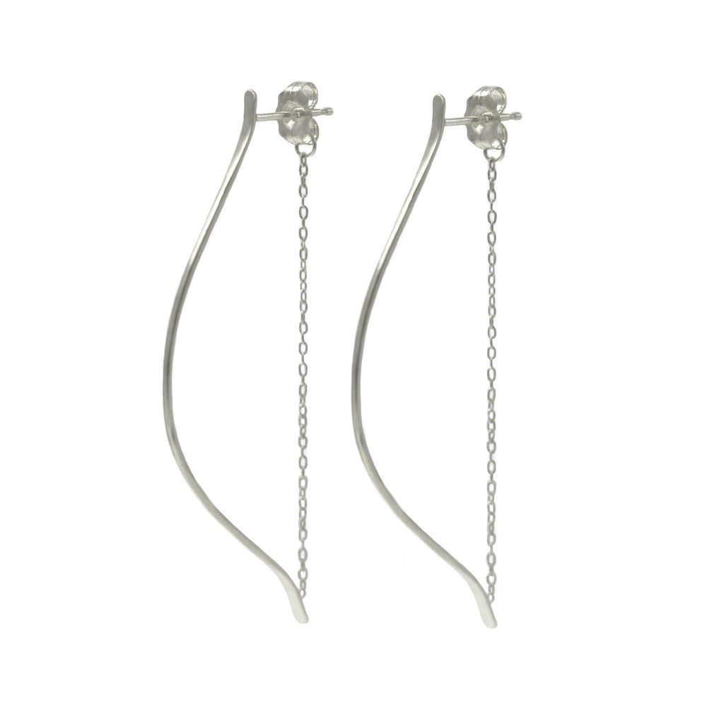 LARGE ARTEMIS EARRINGS SILVER