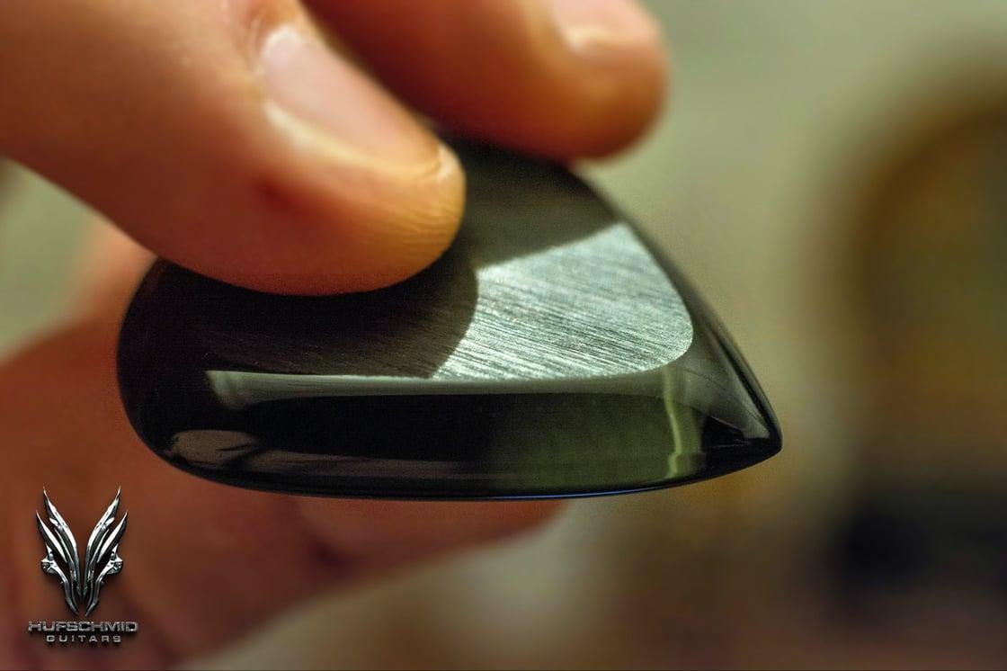 Image of The 8mm 'TAUREDUNUM' plectrums!