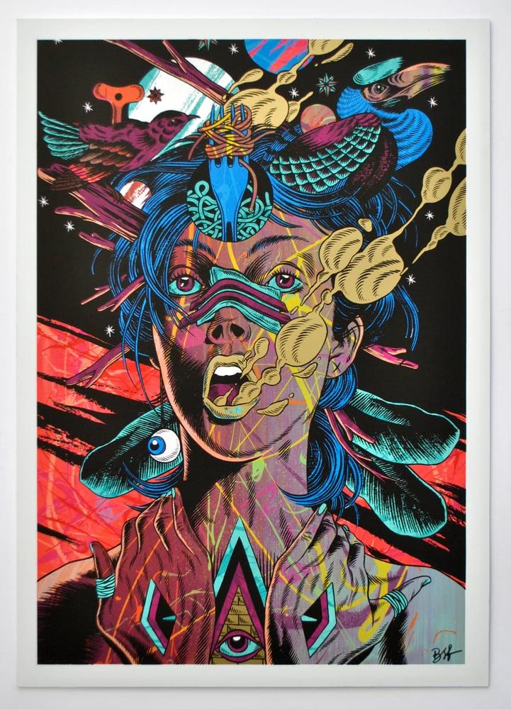 Image of BICICLETA SEM FREIO | Providence | Pollock Tribute