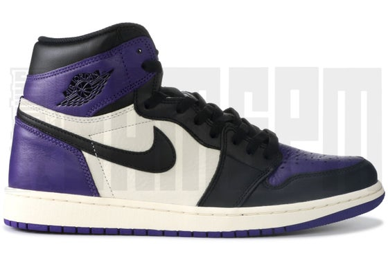 "Image of Nike AIR JORDAN 1 RETRO HIGH OG ""COURT PURPLE"""
