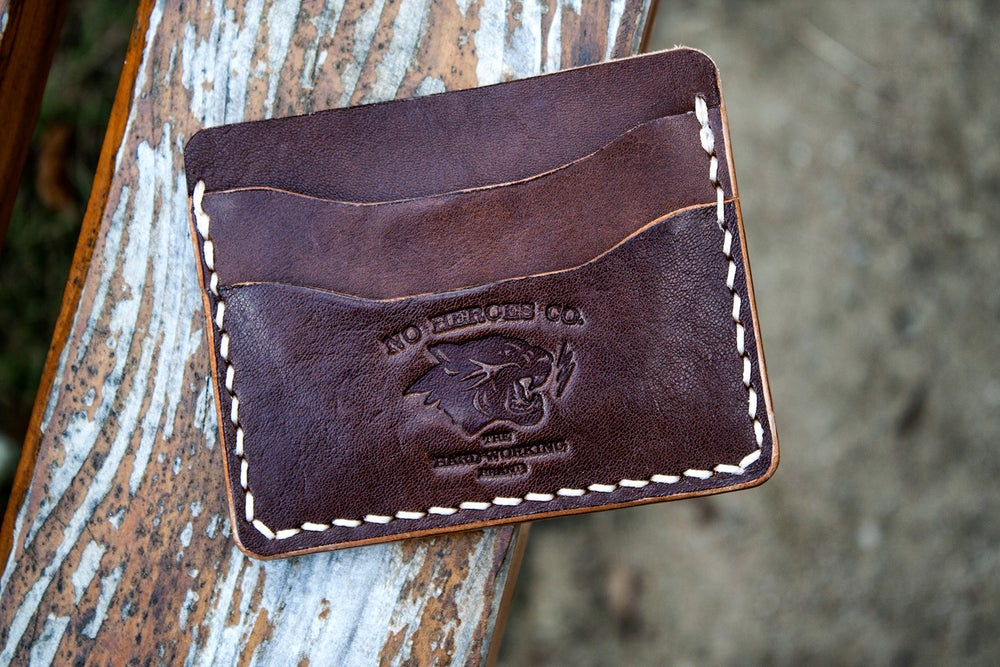 "Image of Comrade — ""Thoroughbred"" Italian Cowhide Leather Card Holder"