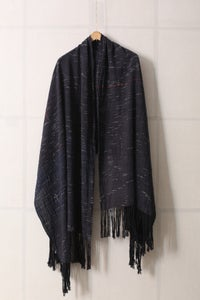 Image of Handwoven wrap/scarf with long fringes by Christopher Duncan