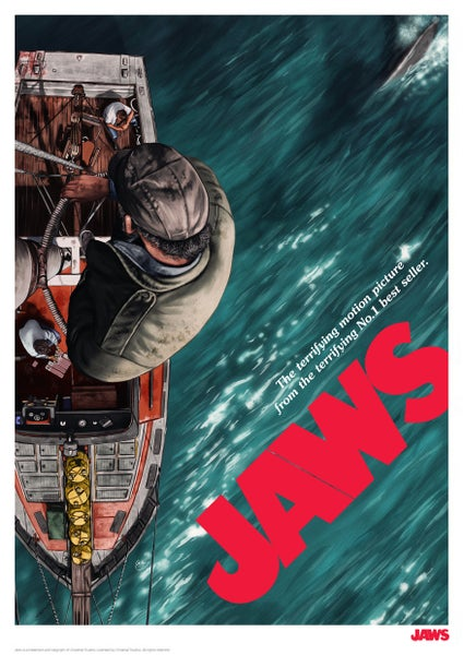 Image of Jaws A3 (officially licensed)