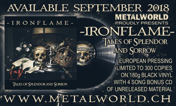Image of IRONFLAME - Tales of splendor and sorrow / Lightning strikes the crown / all formats!