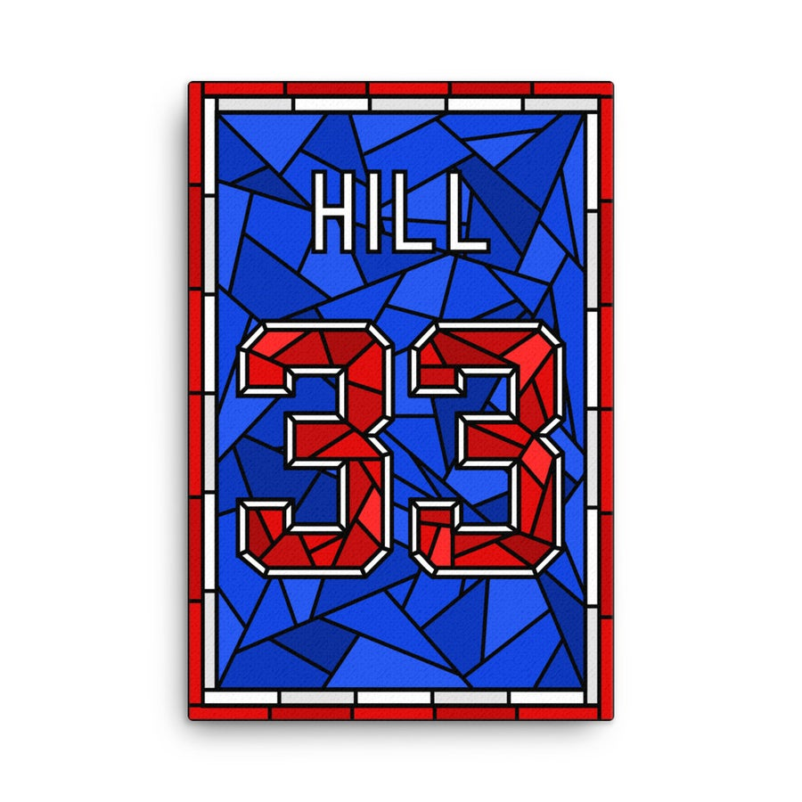 Image of Grant Hill Glory Days Stained Glass 33 Jersey