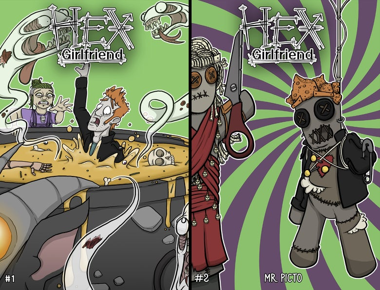 Image of 'Hex Girlfriend' Comic book (2 issues)