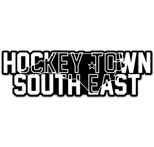 Image of Hockey Town South East Sticker - 2 Pack - Free Shipping!
