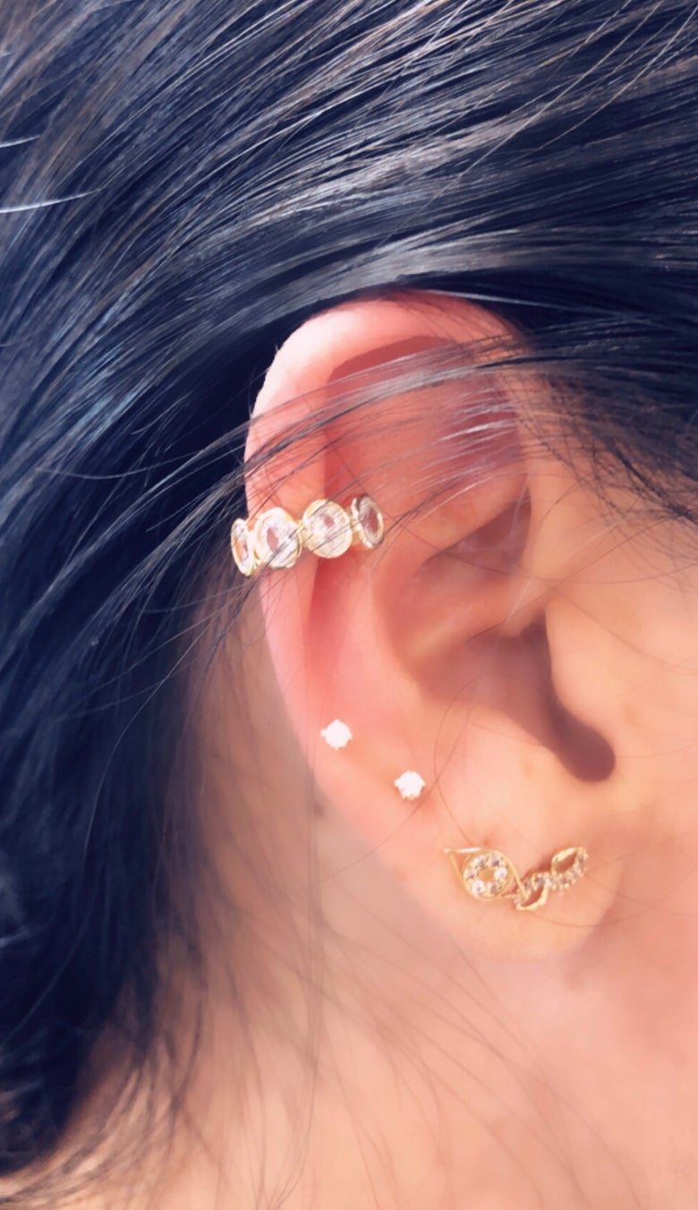 Image of Diamond Ear Cuff