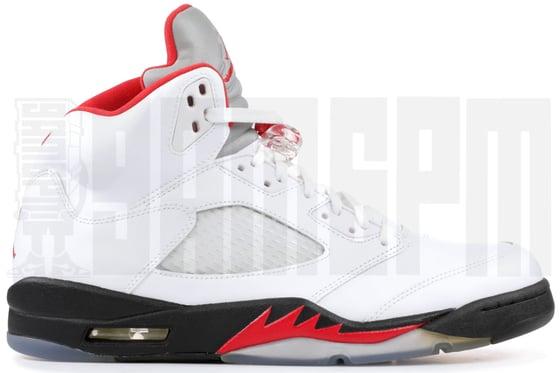 """Image of Nike AIR JORDAN 5 RETRO """"FIRE RED"""""""