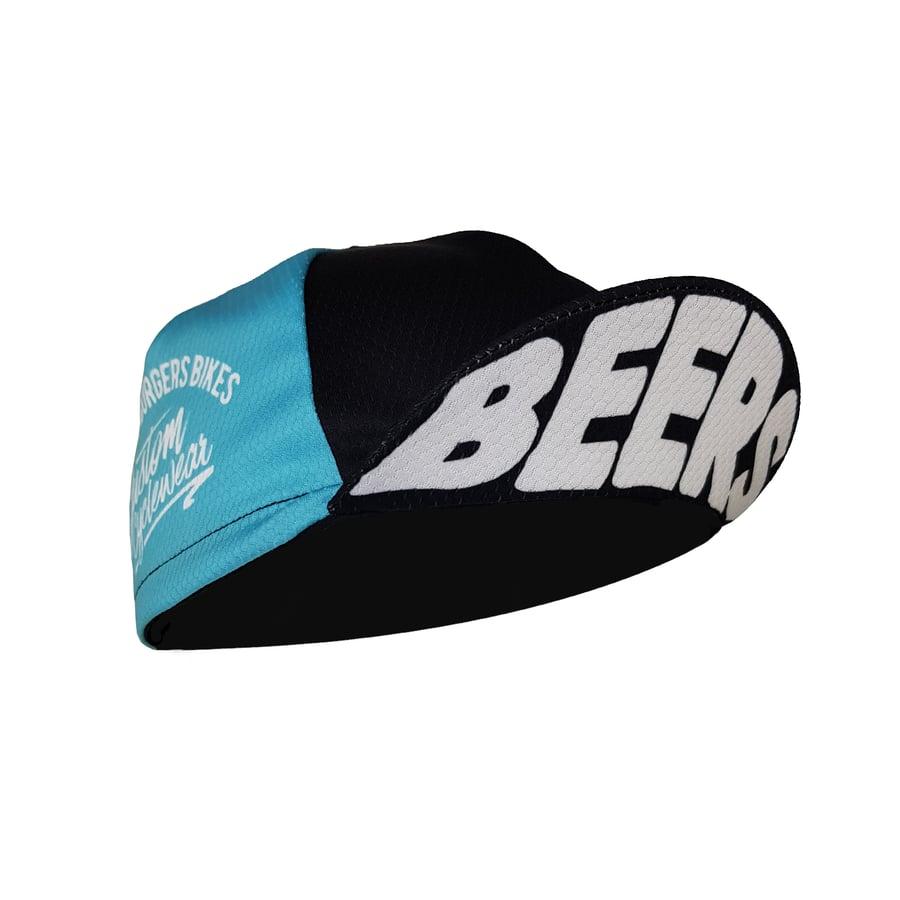 Image of Teal Fade Beers Cap