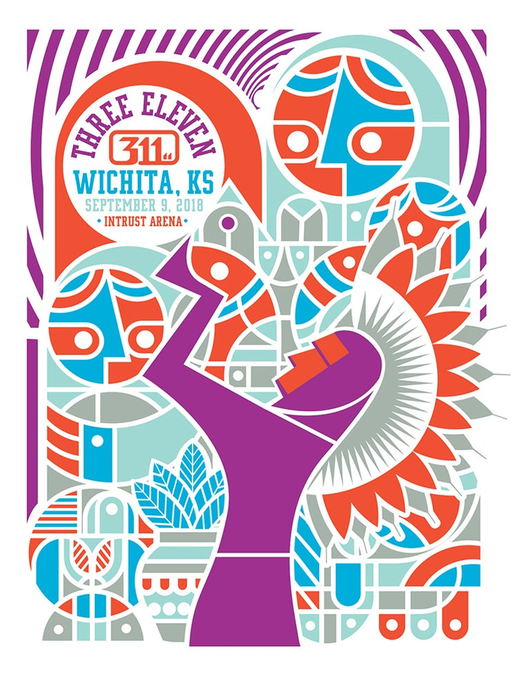 Image of 311 Wichita Posters