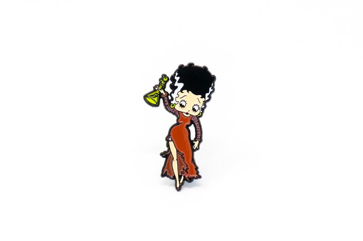 Image of Betty Boop & Bimbo Halloween Enamel Pin Set