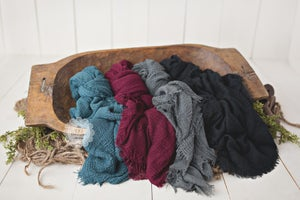 Image of Frayed Edge Weave Layer - FIVE COLORS - NEW!