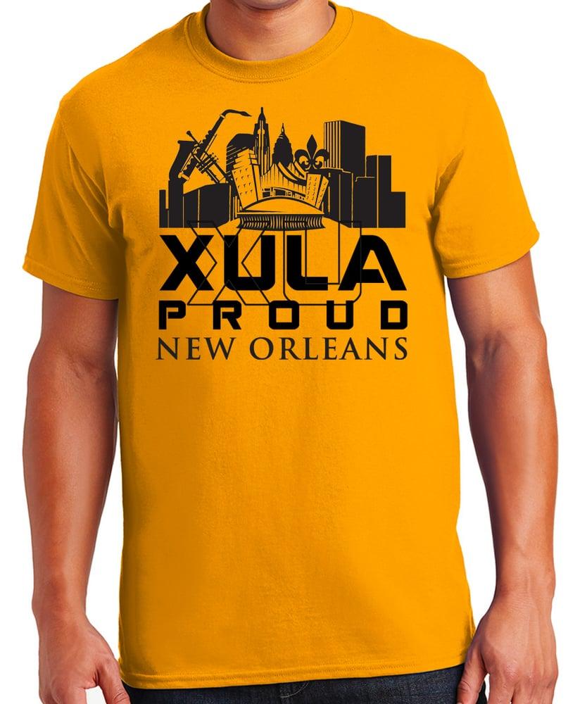 Image of XULA Proud Gold T-Shirt (crew)