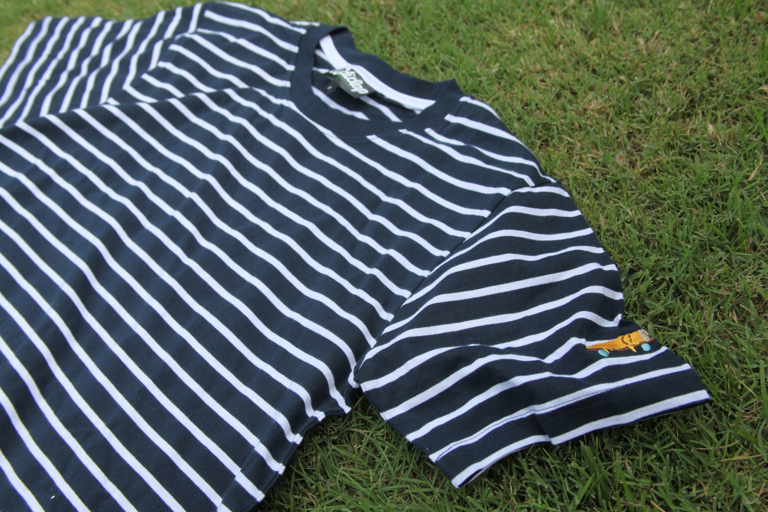 Image of Sleepy Slice Stripe T-shirt